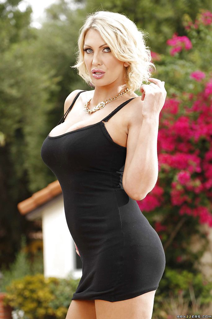 Leigh Darby In A Tight Dress