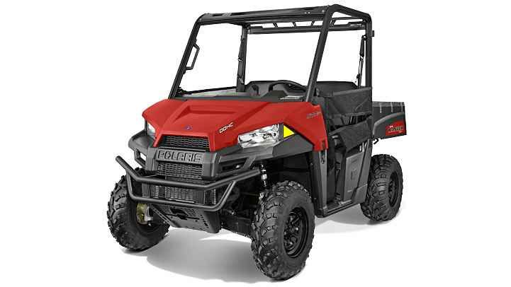 New 2016 Polaris Ranger® 570 EPS ATVs For Sale in California. The Hardest Working, Smoothest Riding and most comprehensive line of side-by-side utility vehicles on the planet. Choose from two-seat, full-size and CREW models for the trail, farm, hunt and so much more. NEW: Increased suspension travel and refined cab comfort, including standard tilt steering NEW: Enhanced styling and Pro-Fit accessory integration NEW: Powerful 44 HP ProStar® EFI engine features 10% more power