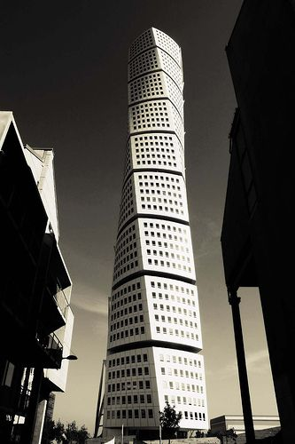 Malmö - Sweden - Turning torso x Santiago Calatrava #architecture