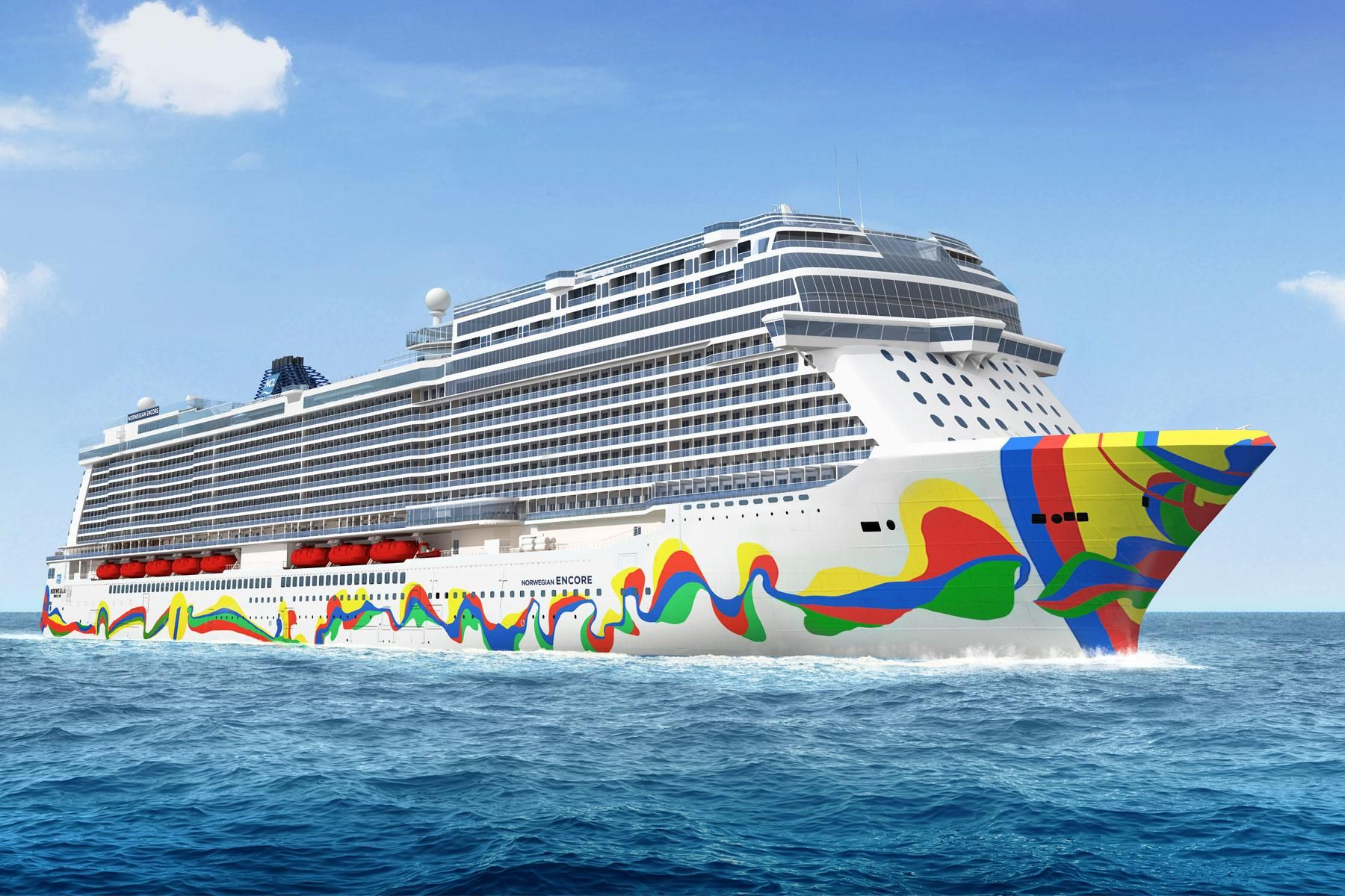 The Norwegian Encore Arrives In 2019 And Brings With It The