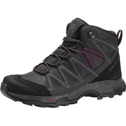 Photo of Salomon Hillrock Mid Gtx® W multifunctional boots, size 42? in dark gray / black / purple, size