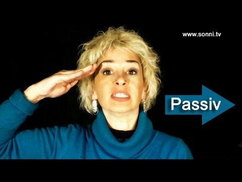 """Deutsche Grammatik """"Passiv"""" (mit Sonja Hubmann) YouTube"""