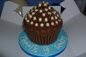 Jodie Innes chocolate cupcake creation Your birthday cakes