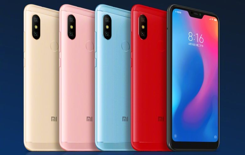 Xiaomi Redmi 6 Pro Embraces The Notch At A Very Affordable Price Point Xiaomi Samsung Galaxy Phone Android Phone