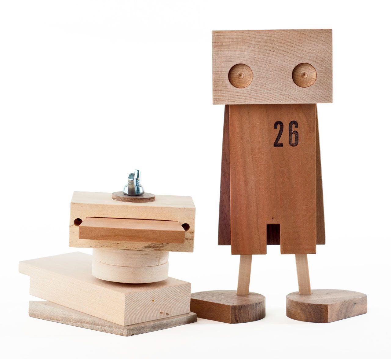 handmade wooden toys made from scrap wood — design milk