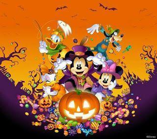 Mickey Mouse Halloween Fondos Para Celular Fondos De Pantalla Para Tu Celular Fondos De Halloween Halloween De Mickey Mouse Halloween