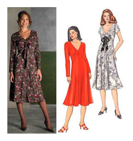 Kwik Sew Patterns. Mie VNeck Line Dre #K3473 | Tunika kleid ...