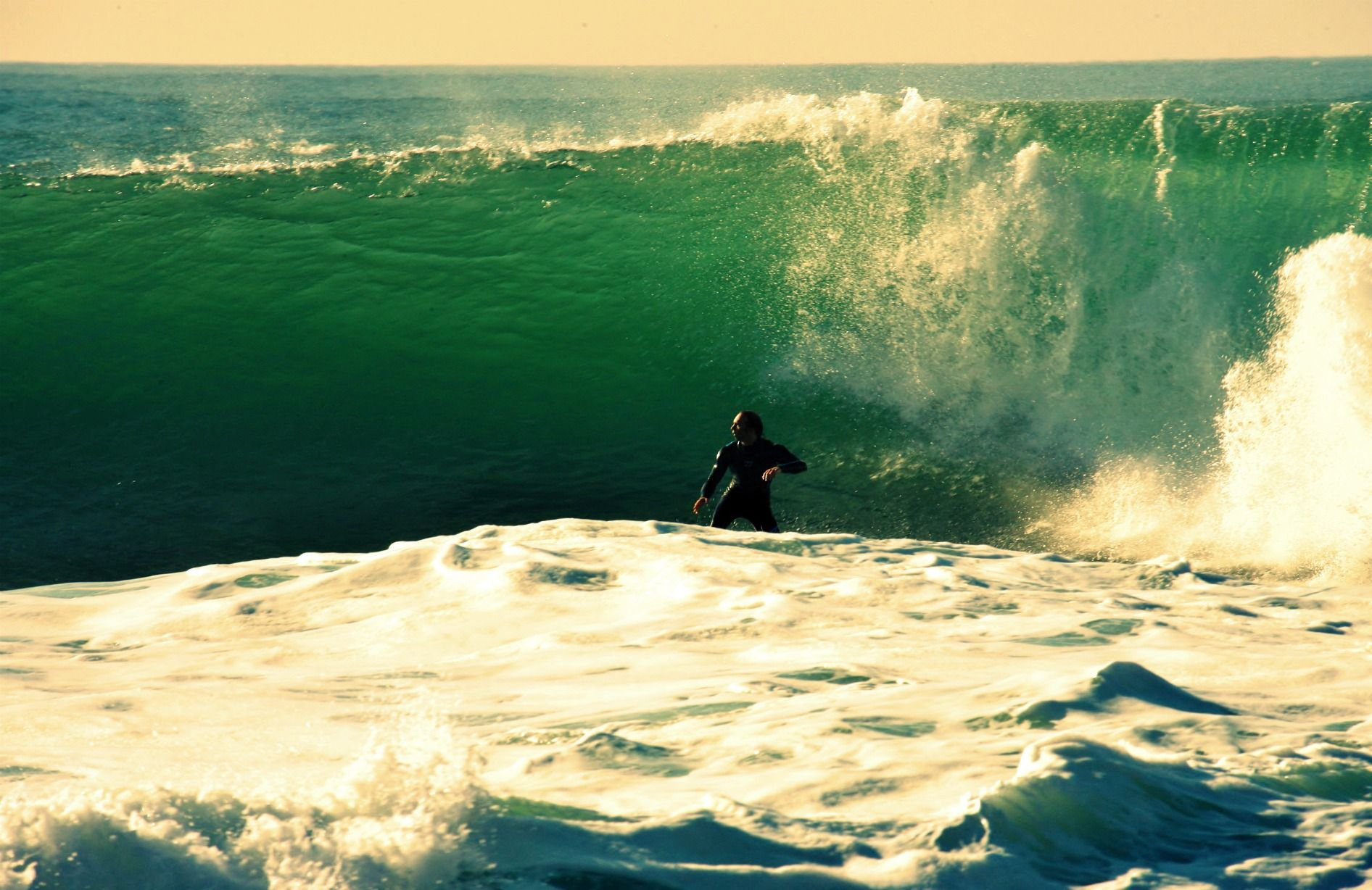 Surfing in Coxos - Ericeira - Portugal
