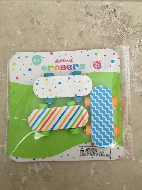Target Dollar Spot Easter Erasers, 3D Eraser, Erasers,Planners, Pencils, Decoration, Scrapbooking,Pens,Pencils,skateboard, summer 2016 by PlannerCraftParadise on Etsy