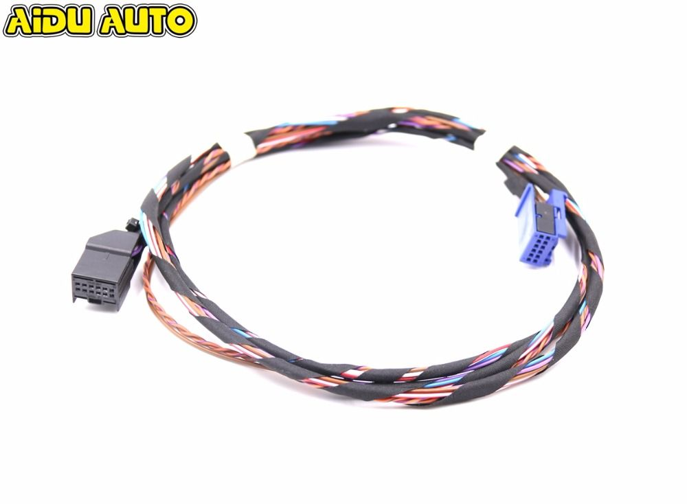 Rcd510 Rns510 Media Interface Mdi Wiring Harness Cables For 5n0 035 341 G Car Electronics Rope Bracelet Cables