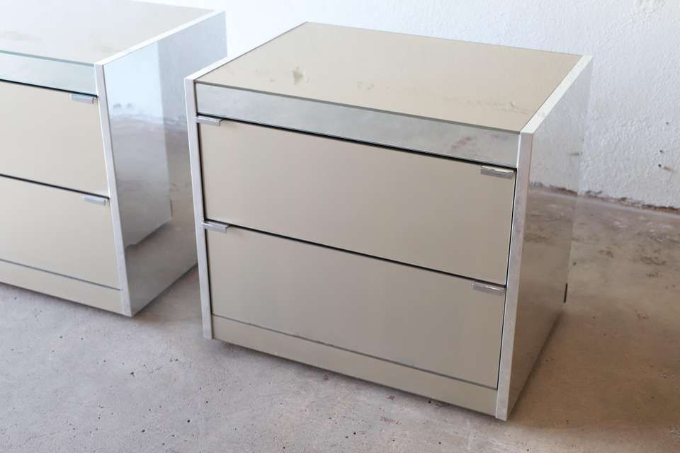 For Sale On 1stdibs Mirrored Nightstands By O B Solie For Guy