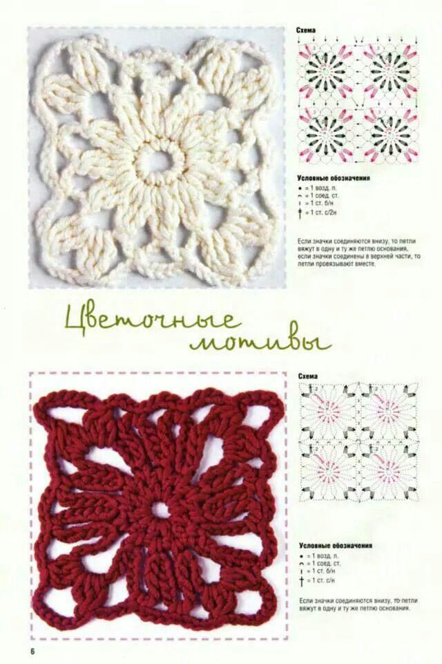 Flores centrales   un color   diagramas   Pinterest   Flor, Color y ...