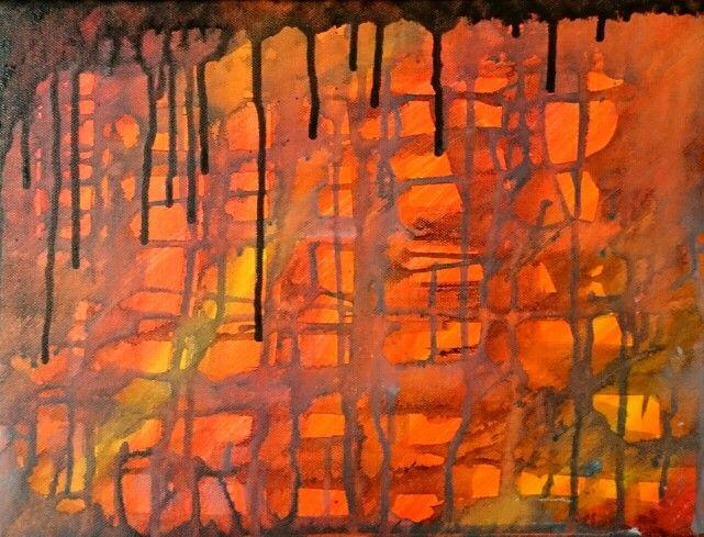 Abstract art by lena Öberg