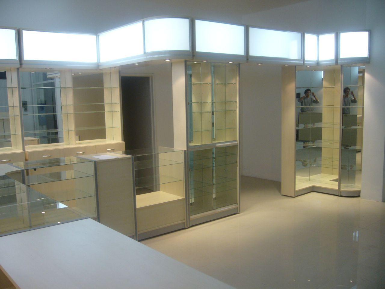 Fabricacion De Muebles Para Farmacia Aca Salud En La Ciudad De  # Muebles Santa Fe