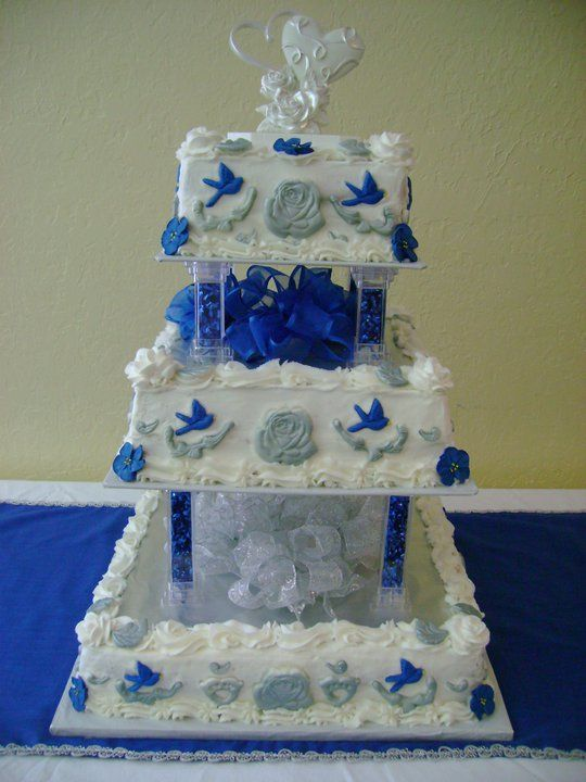 Cake Ideas For Parents Anniversary : My parents 45th wedding anniversary cake. From The ...