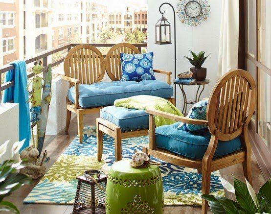 terrazas pequeñas chill out | Decoración terrazas | Pinterest ...