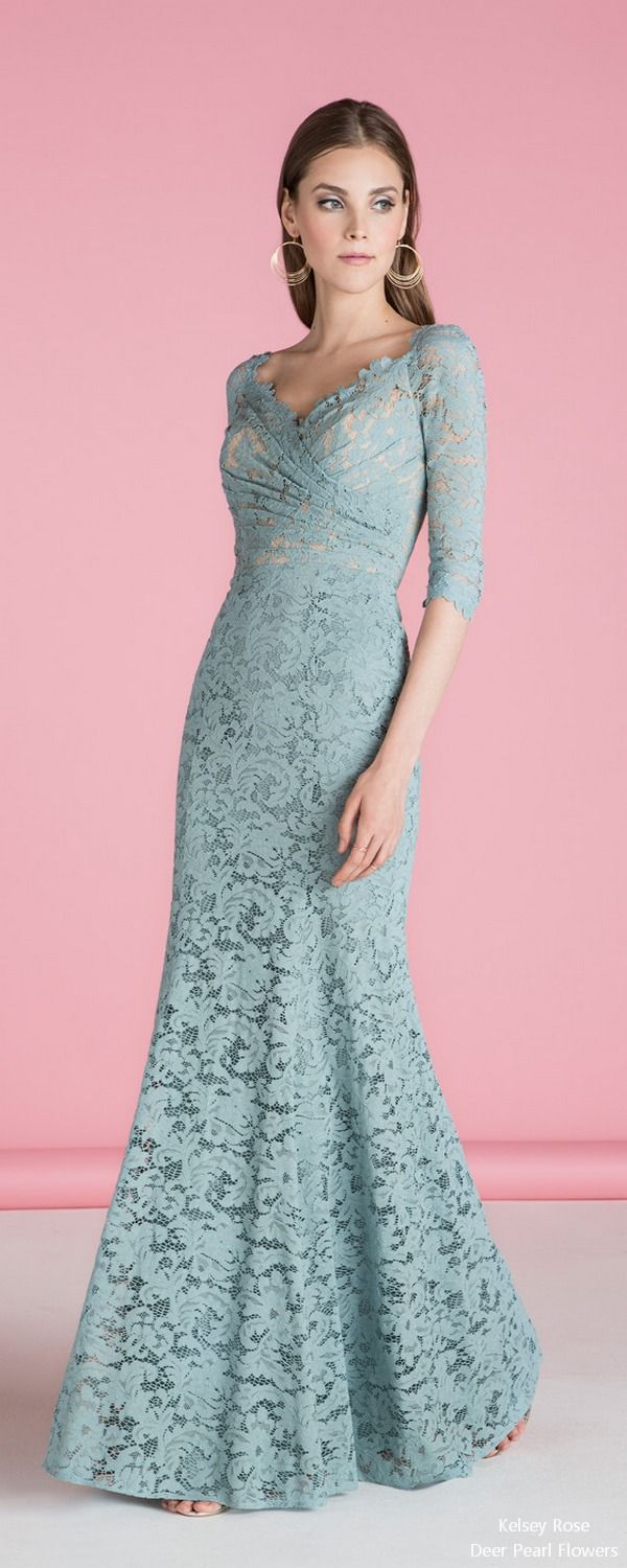 5 Bridesmaid Dress Designers We Love for 2018 | Vestidos de encaje ...