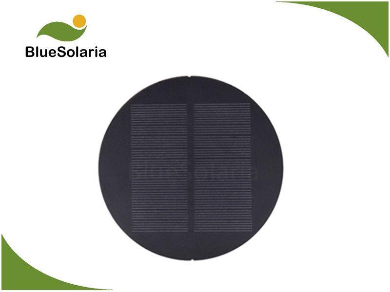 8v 1w Round Solar Panel Small Solar Panels Solar Panels Solar