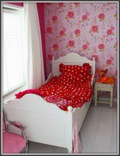 Villa brocante meisjeskamer kinderkamer pinterest for Ladeblok roze