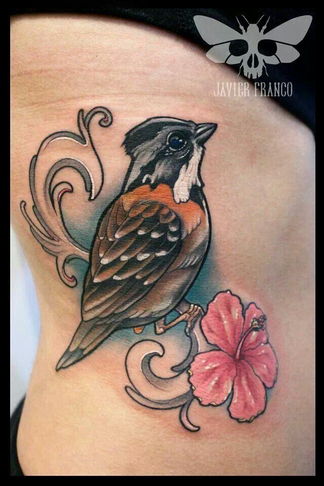 Bird Tattoo Neo Traditional