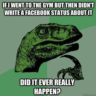 haha gym statuses are so annoying!