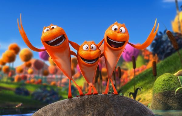 The Lorax Squeezes Out John Carter For No 1 The Lorax Seuss Animated Movies