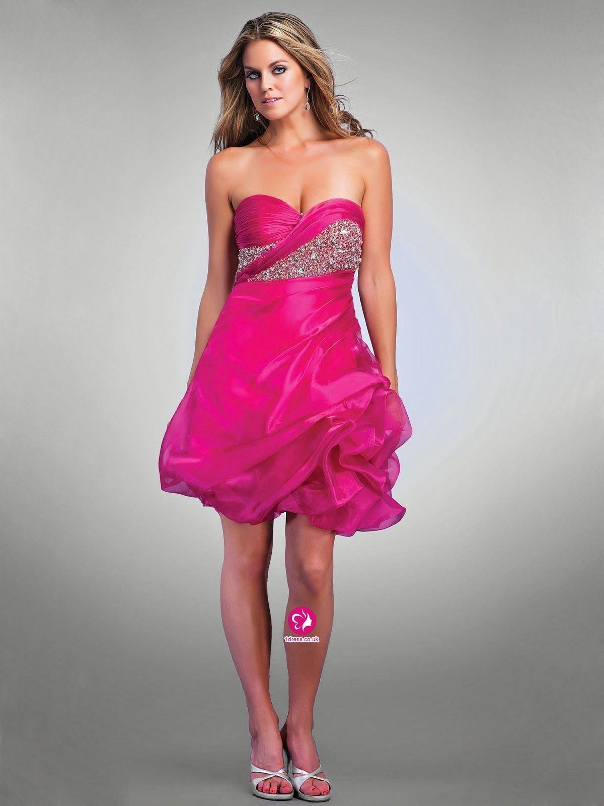 Hermosos vestidos de fiesta 2014 | Modas | Pinterest | Fiestas ...