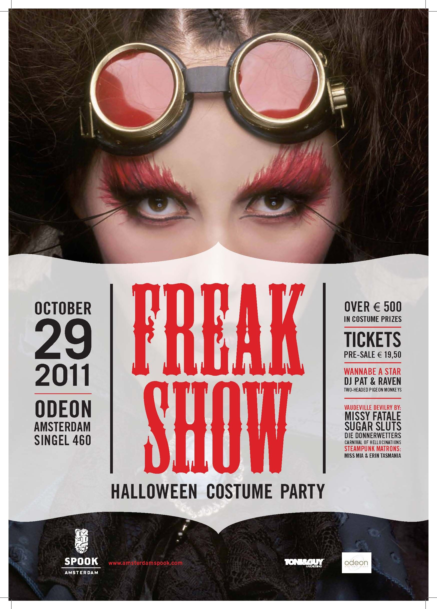 Freak Show, Halloween by Amsterdam Spook 2011 artwork | Halloween ...