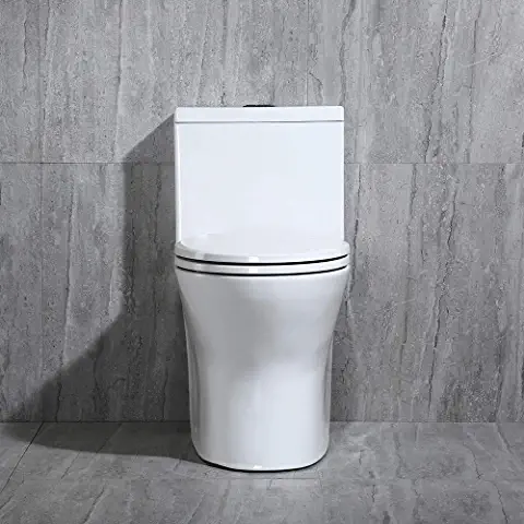Amazon Com Toilets In 2020 One Piece Toilets Modern Toilet Wood Bridge