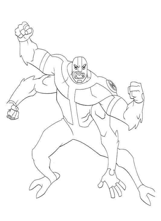 - Coloring Page For Kids Cartoon Coloring Pages, Ben 10, Coloring Books