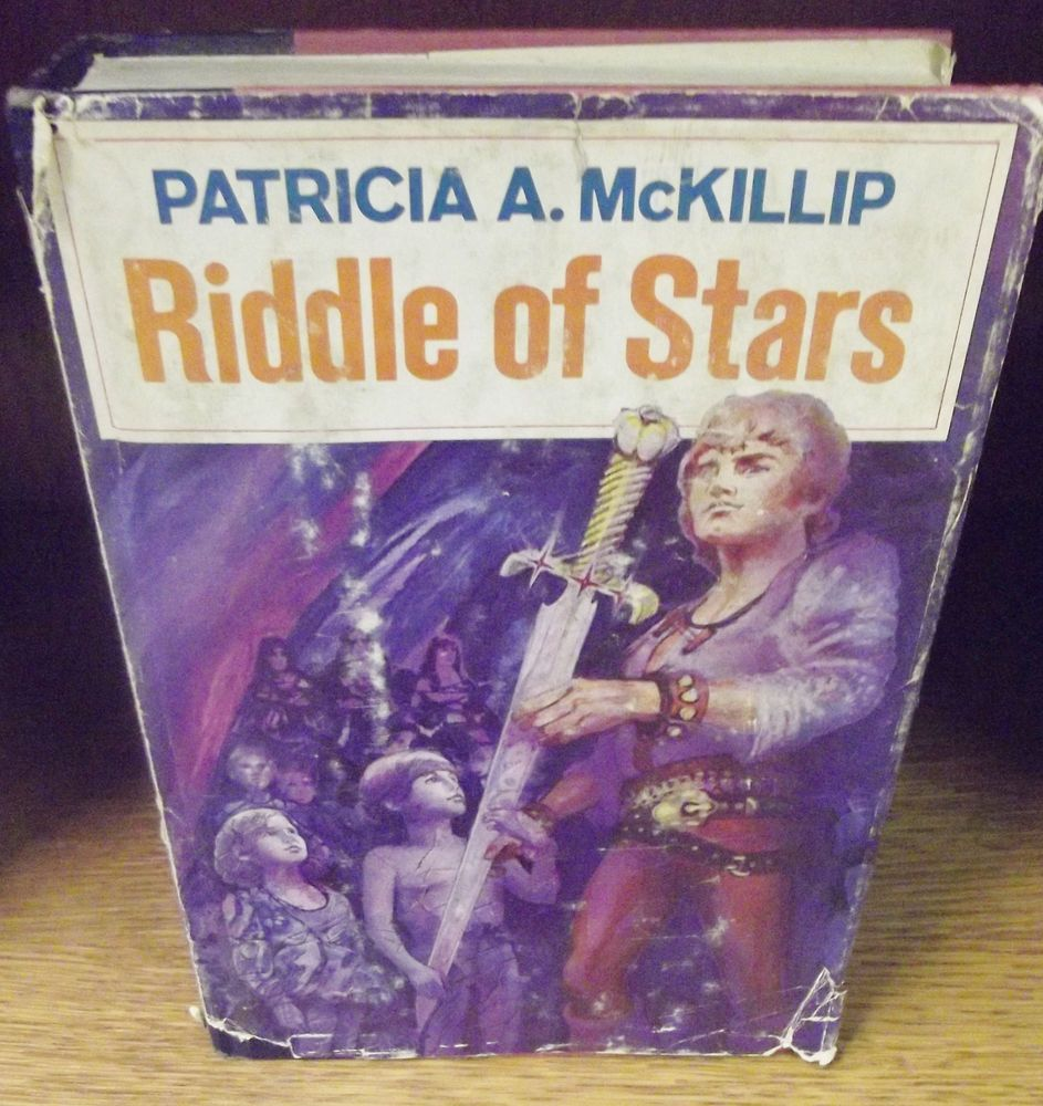 Check out Patricia A. McKillip Riddle of the Stars Book