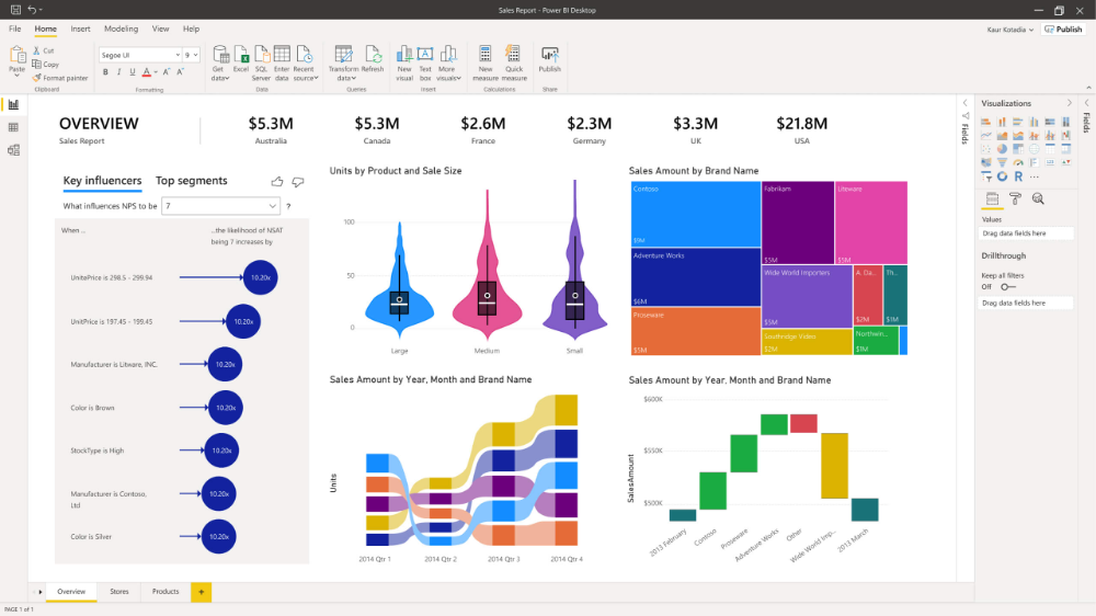 Data Visualization Microsoft Power BI 2020