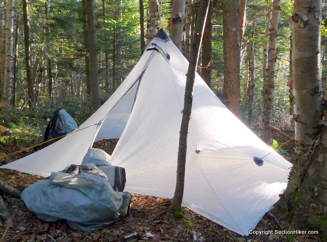 Ode To The Mountain Laurel Designs Cuben Fiber Duomid A Long Term Review And Goodbye Section Hikers Backpacking Blog Camping Accessories Gadgets Camping Accessories Camping Gear Diy