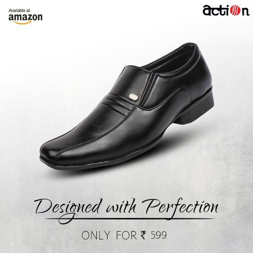 Compliment Your Office Wear With These Men S Formal Shoes From Action