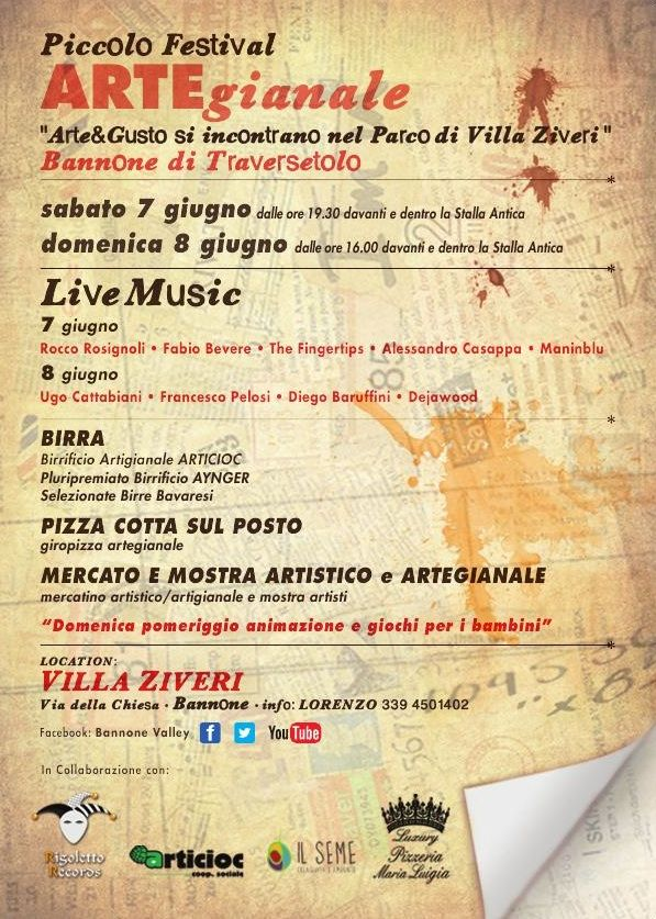 Live al Piccolo Festival ARTEgianato - Rocco Rosignoli