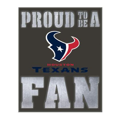 Evergreen Enterprises Inc Nfl Metal Led Wall Décor Team Houston Texans
