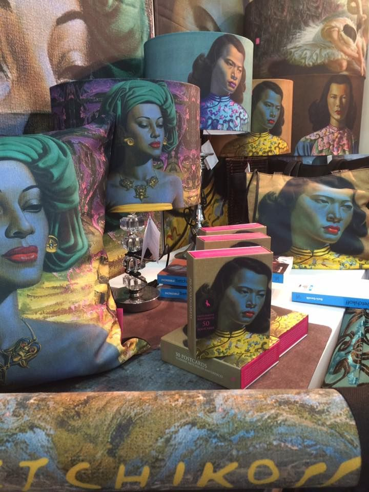 Our range of Tretchikoff products are continually expanding. Visit our website for more details.