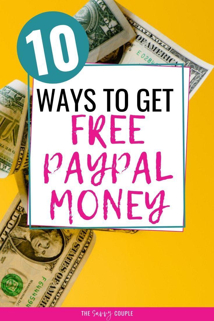 Free paypal money 10 genius ways to earn paypal money