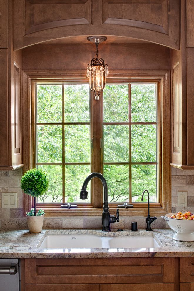 Every Kitchen Has Its Own Window So It Makes You Think That Brightness Does Not Bec Kitchen Sink Lighting Over Kitchen Sink Lighting Light Above Kitchen Sink