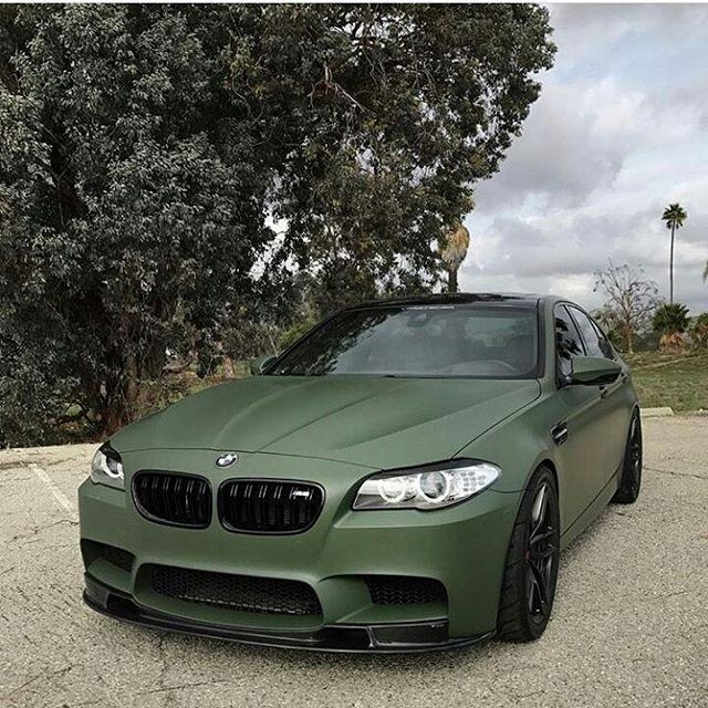 Army Green F10 M5 Bmwm Fam Owner Shahbrah Bmw