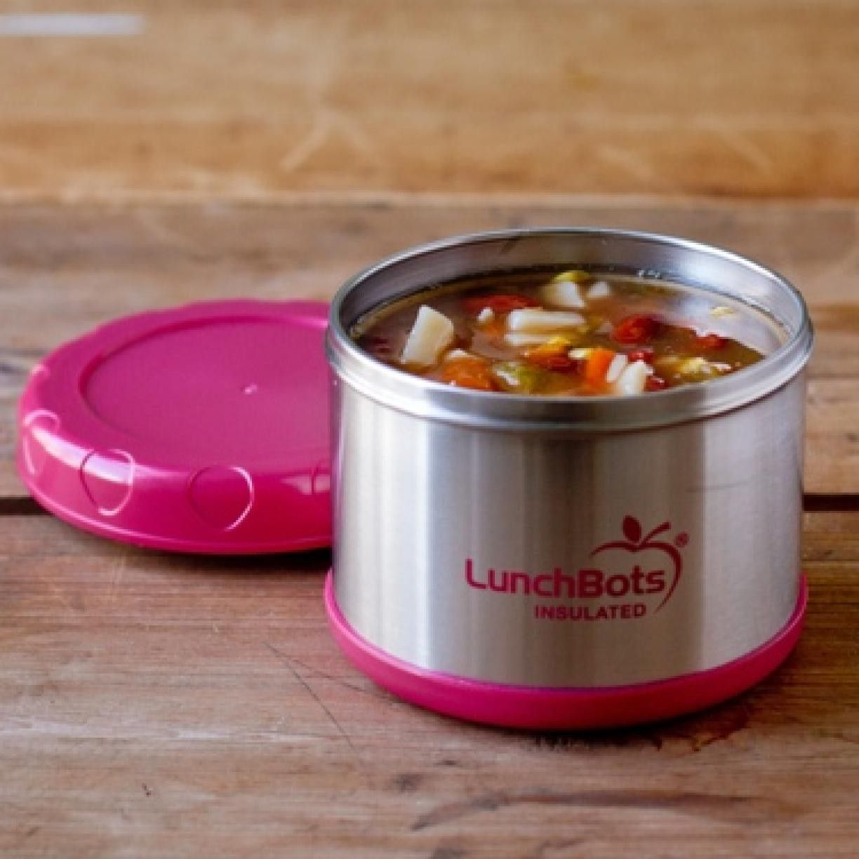 Lunchbots Thermal 500ml Insulated Voedselcontainers Houden Warm