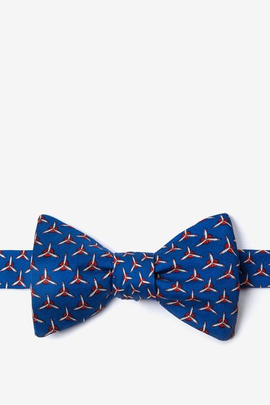 Propellers Self Tie Bow Tie By Alynn Bow Ties Knick Knacks Gift
