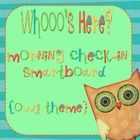 Use your smart board each morning for students to check-in as they move their own name onto the picture....