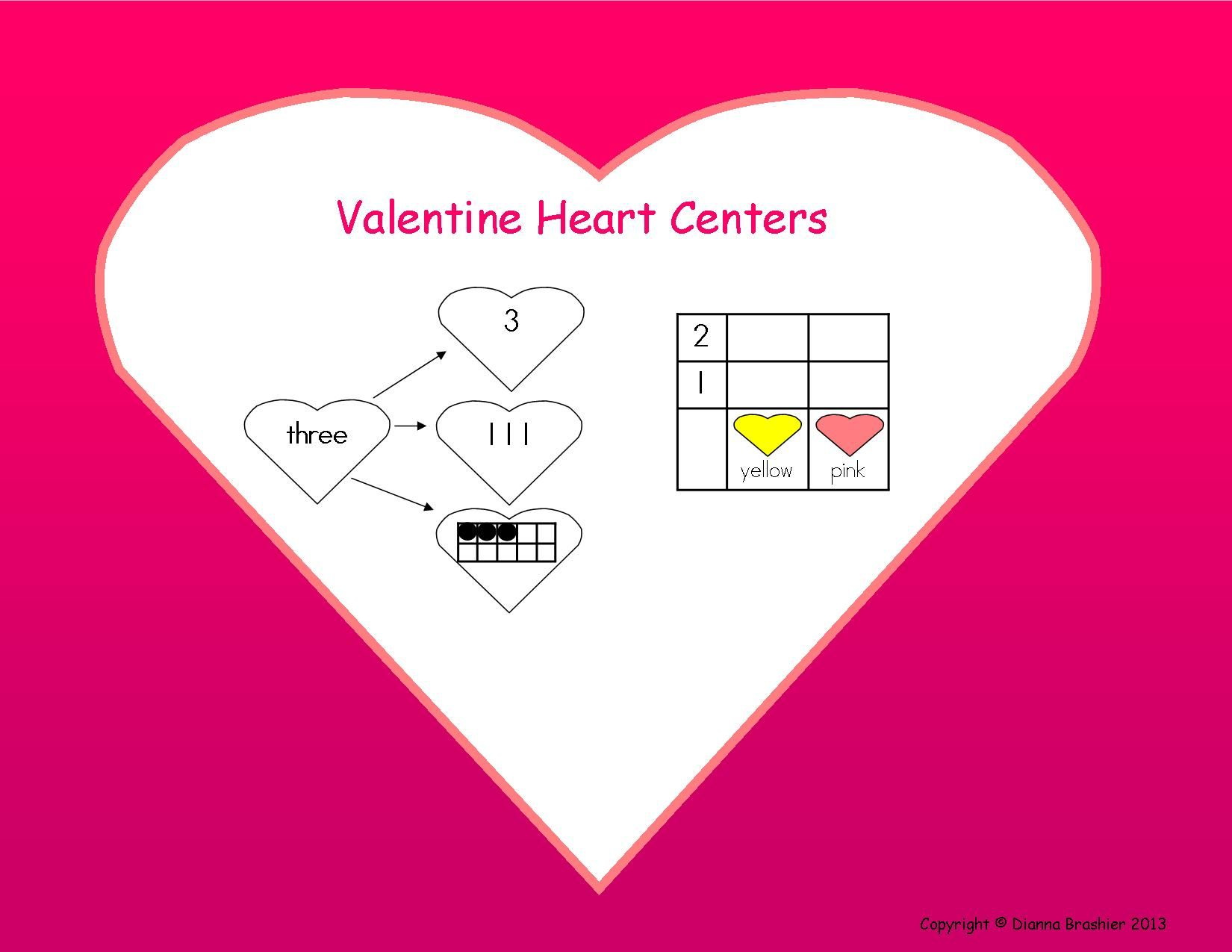 Valentine Center Ideas