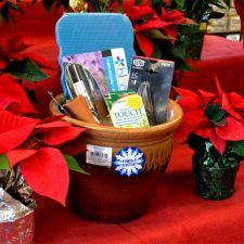 planting display gift basket for the holidays from mendham garden center gardening giftbaskets - Mendham Garden Center