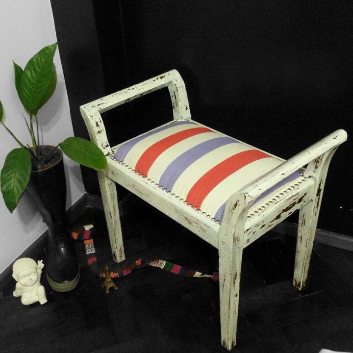 VENDIDA - Banqueta de madera desde $650. Muebles, Living y más ...