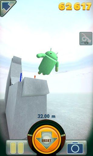 Stair Dismount Is A 3d Ragdoll Simulation Game Featuring The