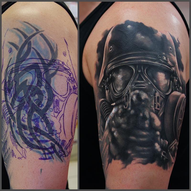 Khan tattoo coverup ocultar tatuajes tapar tatuajes