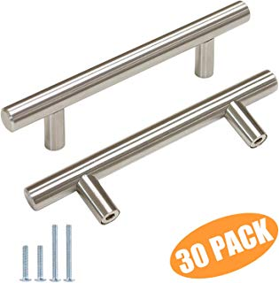 Amazon Com Kitchen 3 To 3 3 8 Inches Or 3 1 2 To 3 7 8 Inches Brass Or Nickel Pulls Tools Home I Kitchen Drawer Handles Cabinet Pull Bar Cabinet