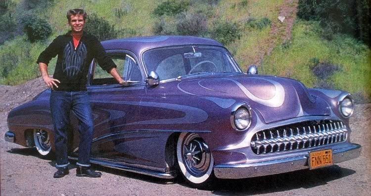Automobile Customizer Larry Watson And His 1950 Chevrolet Called